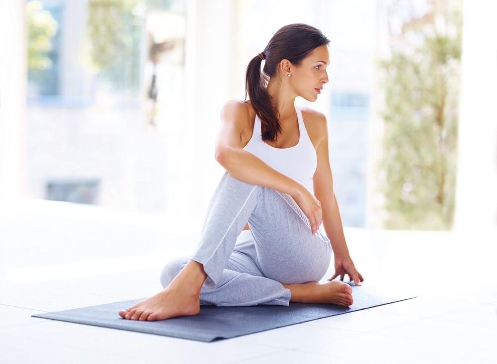 Упражнения йога пилатес фитнес трубка тренировки